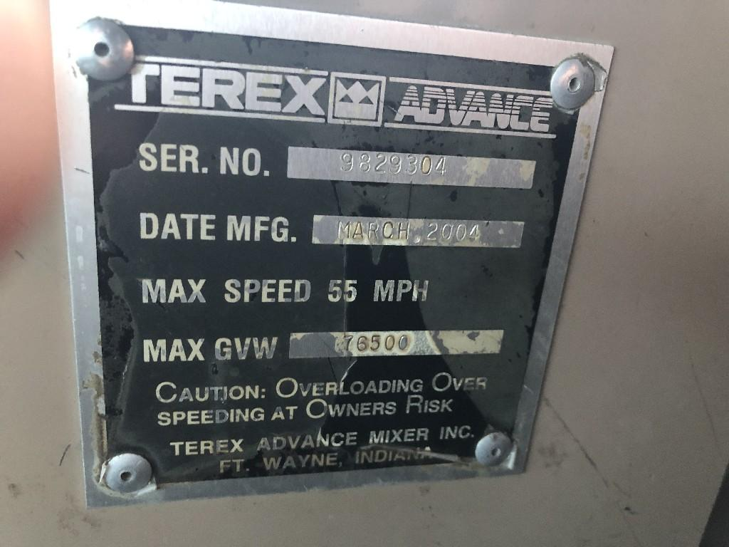 2004 ADVANCED MIXER OTHER TRUCK 610878 Other Truck