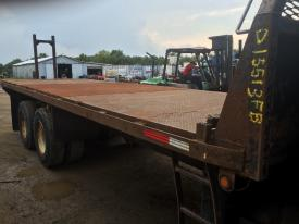 FLATBED 25FT Body / Bed