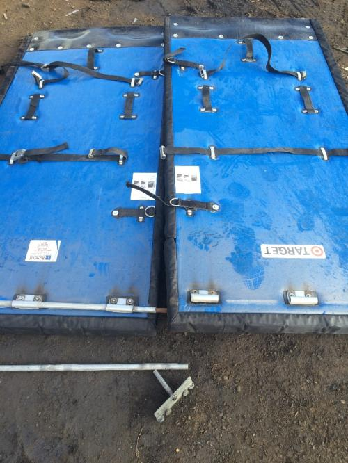 HYUNDAI BOX TRAILER Door Assembly, Front