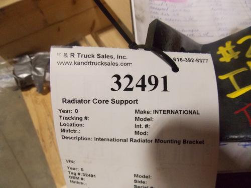 INTERNATIONAL  Radiator Core Support