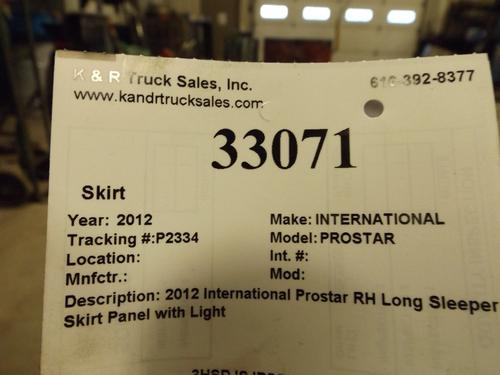 INTERNATIONAL PROSTAR Skirt