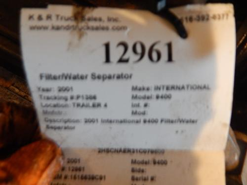 INTERNATIONAL 9400 Filter / Water Separator