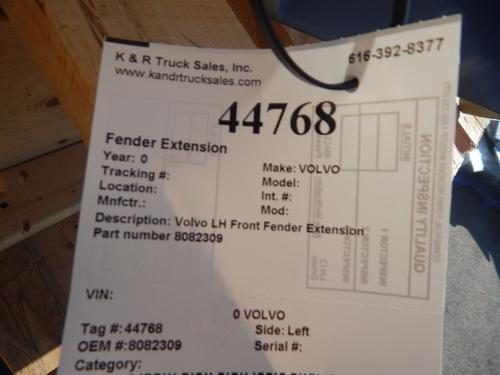 VOLVO  Fender Extension