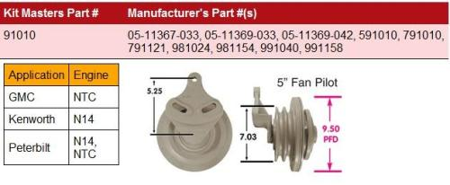 CUMMINS N14-HortonHTS_791010 Fan Clutch