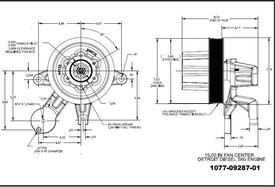 DETROIT S60dd5-Kysor_1077-09287-01 Fan Clutch