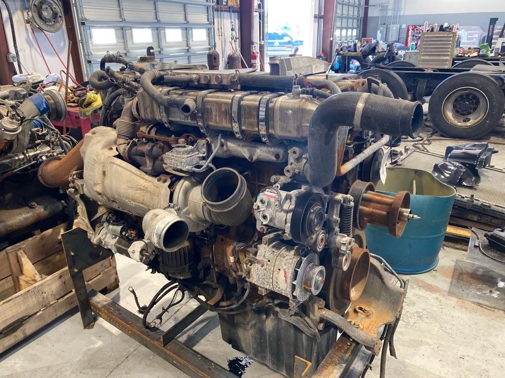 USED 2012 DETROIT DD15 ENGINE ASSEMBLY PART #8225