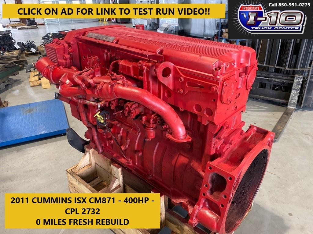 USED 2011 CUMMINS ISX ENGINE ASSEMBLY PART #8563