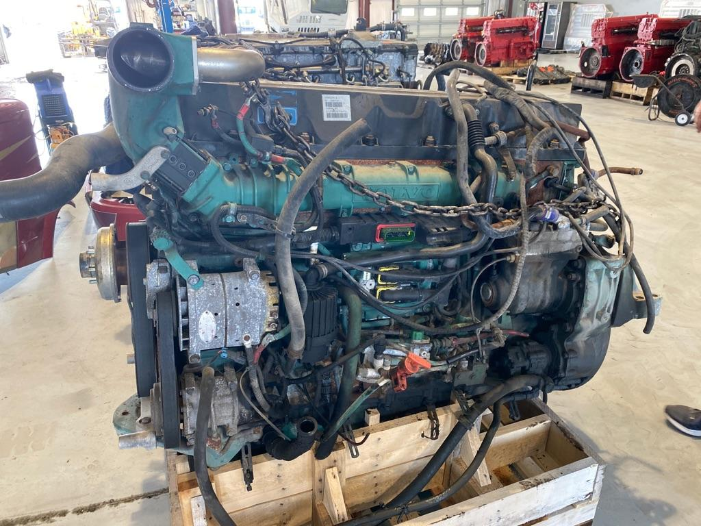 USED 2011 VOLVO VED13 ENGINE ASSEMBLY PART #8643