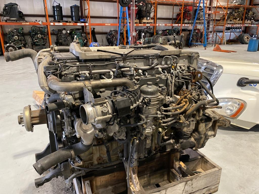 USED 2015 DETROIT DD15 ENGINE ASSEMBLY PART #9714