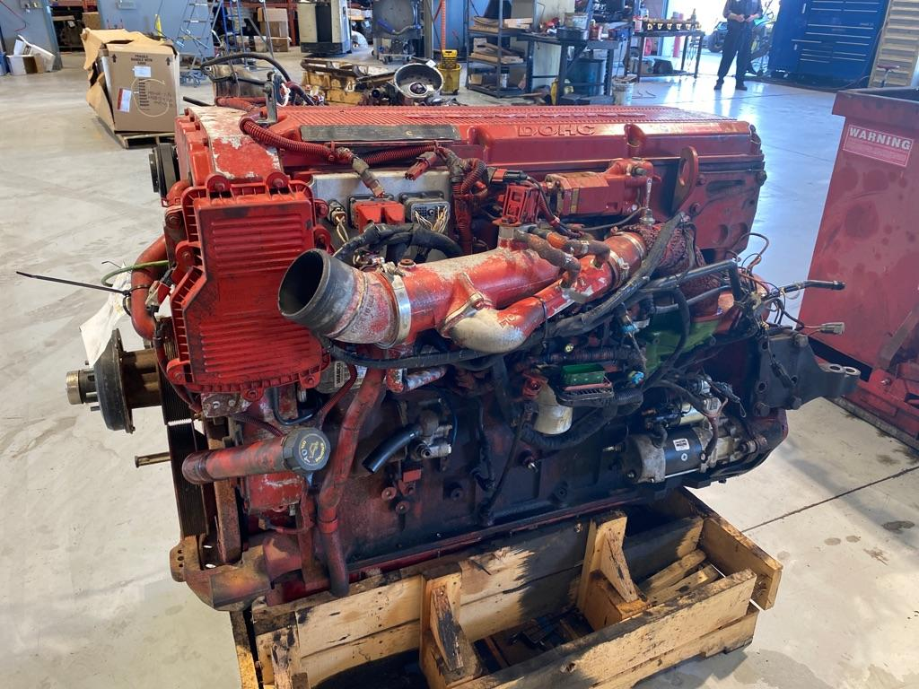 USED 2008 CUMMINS ISX ENGINE ASSEMBLY PART #9886