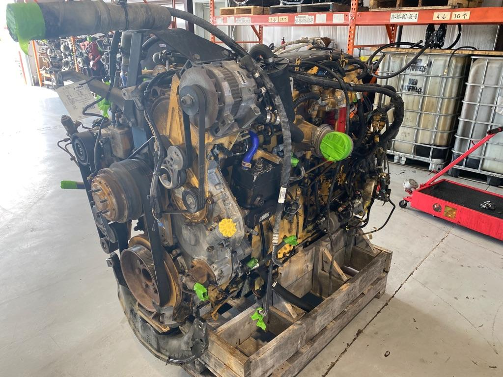 USED 2008 CAT C-15 ENGINE ASSEMBLY PART #10691