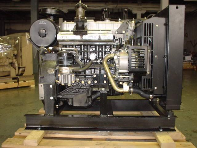ISUZU 4JB1-G Engine Assembly