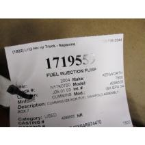 Fuel Pump (Injection) CUMMINS ISX EPA 04 LKQ KC Truck Parts - Western Washington