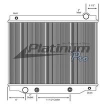 Radiator FORD F700 LKQ Plunks Truck Parts And Equipment - Jackson