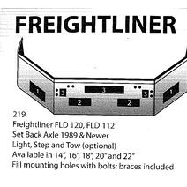 Bumper Assembly, Front FREIGHTLINER FLD120 LKQ Heavy Truck - Tampa