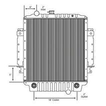 Radiator FREIGHTLINER MT35 LKQ Universal Truck Parts
