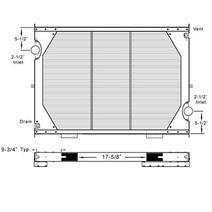 Radiator INTERNATIONAL 9200 LKQ KC Truck Parts Billings