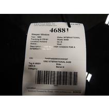 Back Glass INTERNATIONAL 9400 K & R Truck Sales, Inc.