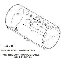 Fuel Tank INTERNATIONAL 9400 LKQ Evans Heavy Truck Parts