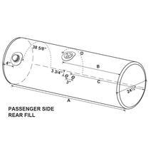 Fuel Tank KENWORTH  LKQ Plunks Truck Parts And Equipment - Jackson