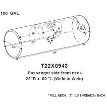 Fuel Tank KENWORTH T300 LKQ Plunks Truck Parts And Equipment - Jackson