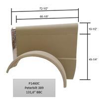 Hood PETERBILT 389 LKQ Plunks Truck Parts And Equipment - Jackson
