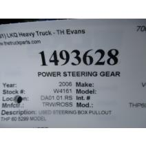 Steering Gear / Rack TRW/ROSS THP60-010 LKQ Evans Heavy Truck Parts