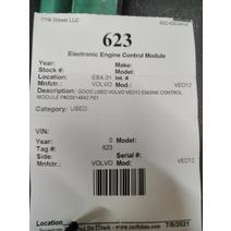 ECM VOLVO VED12 Ttm Diesel Llc