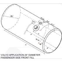 Fuel Tank VOLVO VNL 2003-OLDER LKQ Plunks Truck Parts And Equipment - Jackson