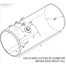 Fuel Tank VOLVO VNL 2004-NEWER LKQ Plunks Truck Parts And Equipment - Jackson